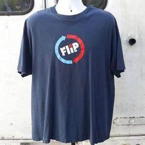 flip Shirts - Vintage Flip Skateboarding T shirt size XL